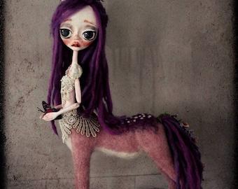 "Reserved ~ Fantasy Creature Art Doll Centaur ~ ""Serenity """