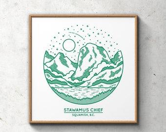 Stawamus Chief Poster