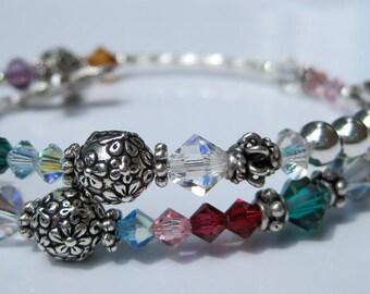 Mothers Day - Family Birthstone Bracelet - Mothers Bracelet - Grandmas Bracelet