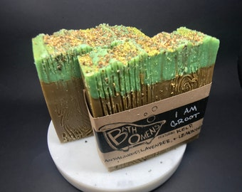Bath Omens Handmade Soap - I am Groot