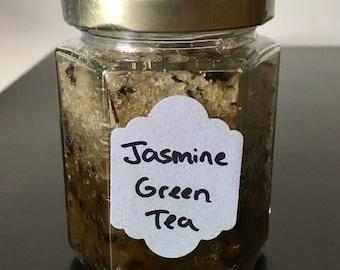 Jasmine Green Tea Sea Salt Scrub