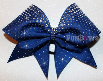 Awesome Gradient Allstar Cheer Bow by FunBows ! Lots of Bling !
