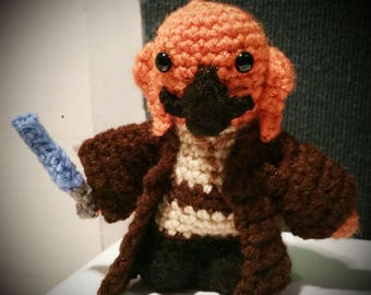 Plo Koon Star Wars Attack of the Clones Clone Wars Crochet Doll Figure