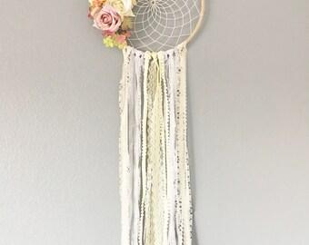 Boho Floral Dreamcatcher