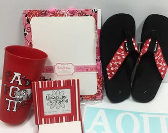 Alpha Omicron Pi Sorority Package