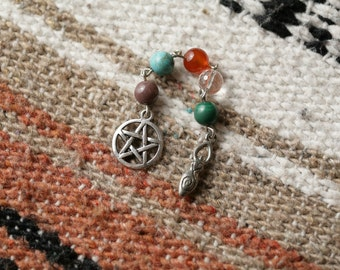 5 Elements Pagan Prayer Beads