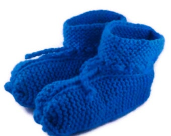 Booties Slippers for All Knitting Pattern Unisex Knitting PDF Pattern Travel Slipper Socks Is a Digital File Not a Finished Product