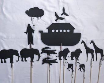 Bible Story Shadow Puppets - Noah's Ark