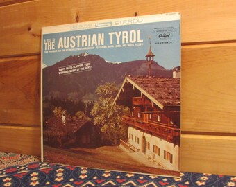 A Visit To The Austrian Tyrol - 33 1/3 Vinyl Record