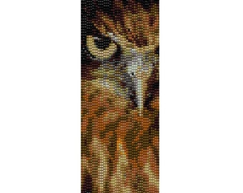 Peyote Bracelet Pattern Night Owl