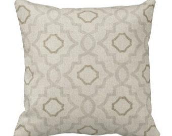 Neutral Pillows, Pillows, Pillow Covers, Couch Pillows, Decorative pillows, Throw Pillows, Pillow Sets, Euro Shams, Trellis Pillows