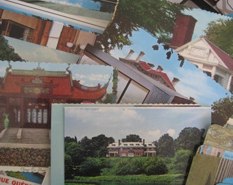A collection of over  130  vintage post cards, never used, in pristine condition. A collctors' treasure !!