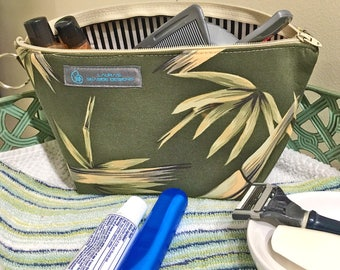 Green Bamboo Ditty Bag