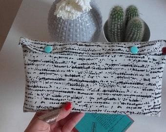 Fabric pouch/clutch