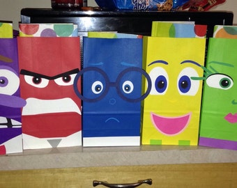 Inside out goody bags
