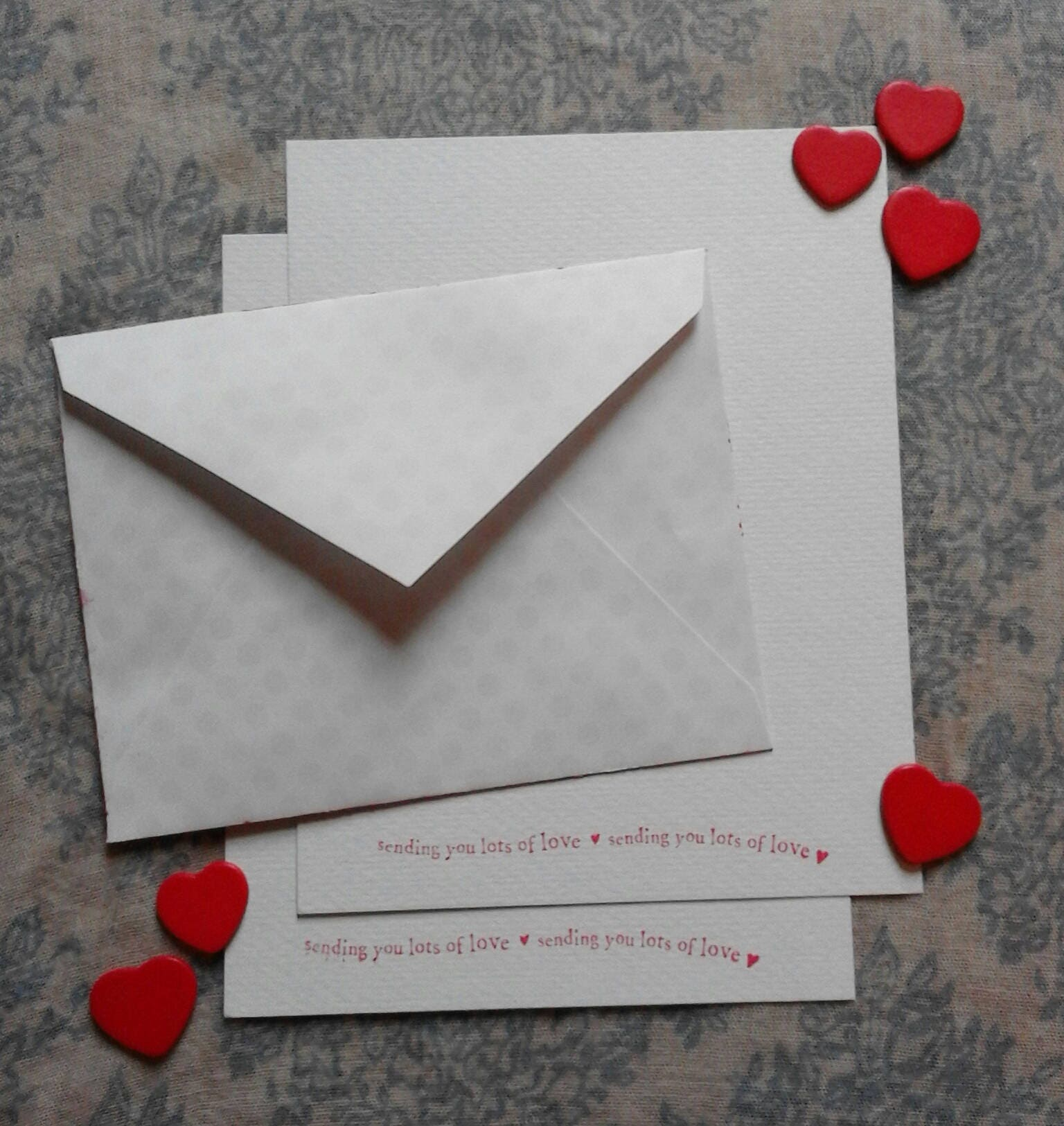 Valentines day love letter writing set handmade painted envelope valentines day love letter writing set handmade painted envelope with stamped paper long distance relationship gift sold by snailmailuk 348 spiritdancerdesigns Choice Image