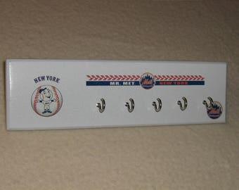 New York Mets key rack