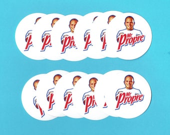 MR clean - 12 Mini stickers 5 * 5cm