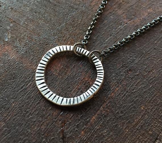 Glasses Holder Necklace - Sterling