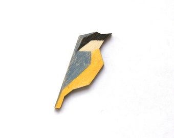 Nuthatch pin