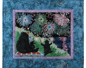 12 Months Of Happy~Li'L Sparklers Blk 7-Jul,- Quilt Pattern By Mckenna Ryan