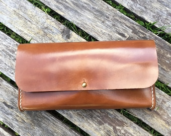 Clutch Wallet in Wickett and Craig Leather
