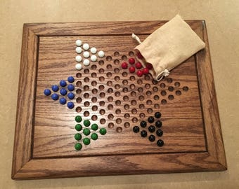 Handmade Chinese Checker Board