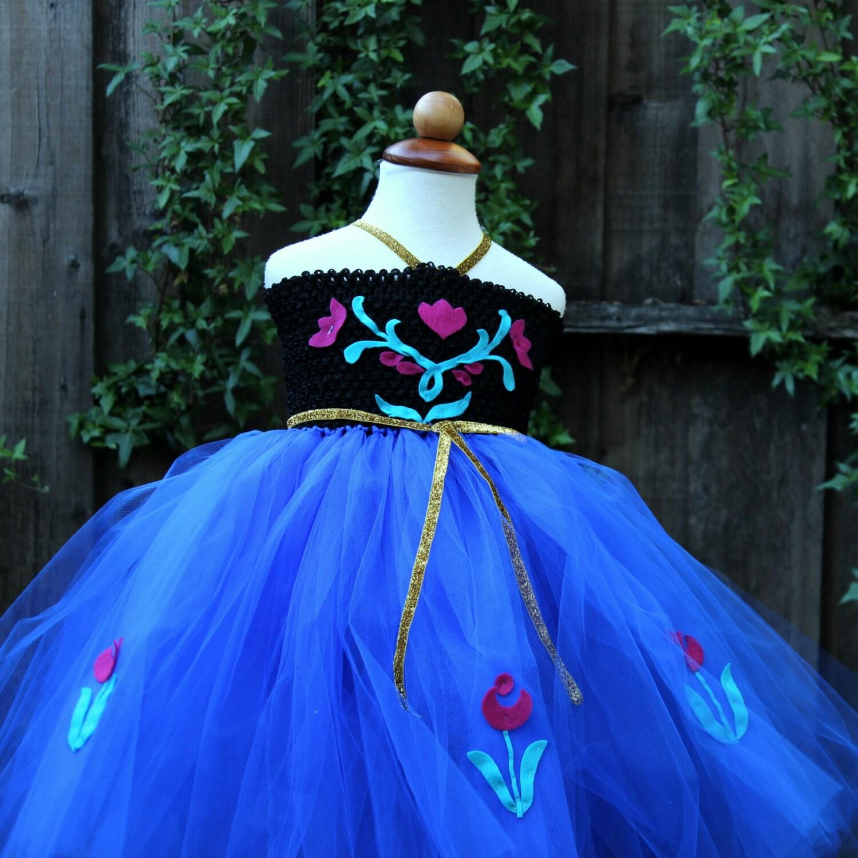 ?zoom & Frozen Anna Dress Anna birthday dress Frozen Anna Dress