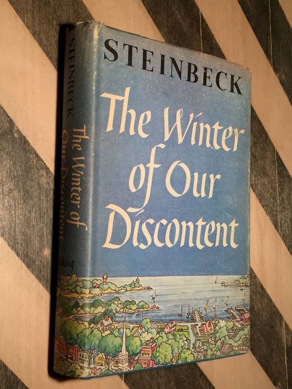 The Winter of Our Discontent by John Steinbeck (1961) hardcover book