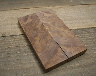 Knife Scales Black Walnut #1822