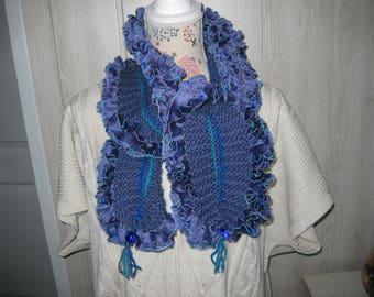 fancy woolen woman scarf
