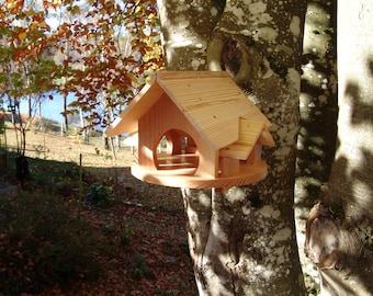 bird feeder house, bird house, to hang, personalisable