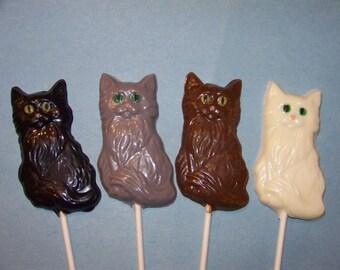 10 pc. Cat Lollipops