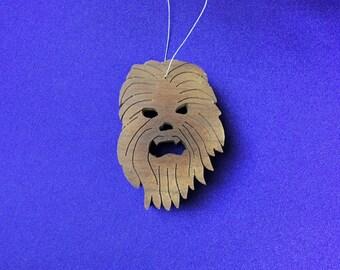 Chewbacca - Large - Star Wars - Hand-cut Wood Ornament Decoration