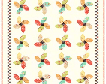 Fig Tree Quilts Somersault Quilt Pattern FTQ 1101