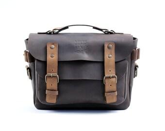Small Messenger Bag (Chocolate)