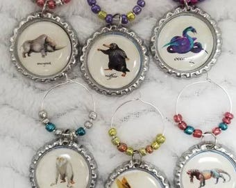 Fantastic Beasts and Where to find them Beasts charms Wine charms