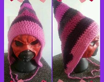 Princess Crochet Pixie Hat