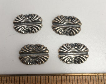 Small Oval Medallions, Set of 4