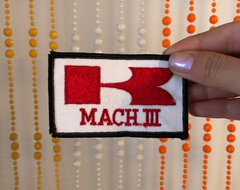Vintage 'MACH III' Patch