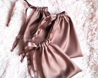Silk small Bag for sleep mask