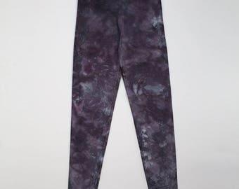 L Dark Grey Crystal Wash Leggings