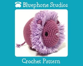 Crochet Pattern: Lory the Lion