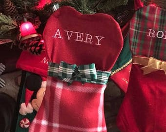 Personalized Dog Christmas Stocking