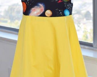 Planets/ Solar system dress (3T)