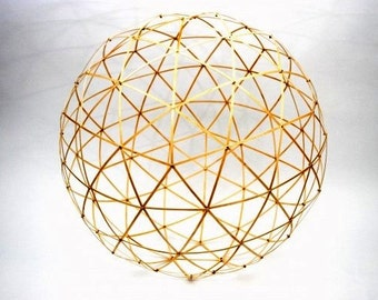 Geodesic Sphere / Dome -  Wooden Construction Kit