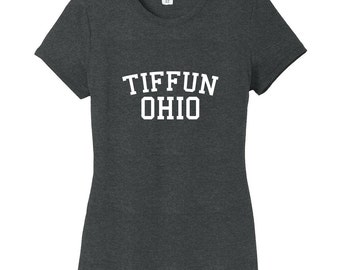 Tiffun Ohio Women's Fitted T-Shirt