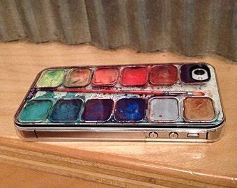 Watercolor Set iPhone 7 Case, iPhone 7 Plus Case, artistic iPhone 6 case, iPhone 6s case, Rubber Case, iPhone 8 case, iPhone 6s plus case