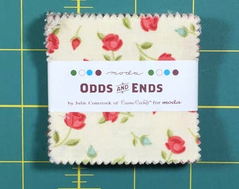 Odds and Ends Cosmo Cricket MINI Charm Pack moda fabrics oop htf