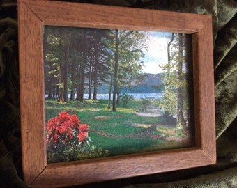 Lithograph Framed Print of Rural Northeastern Countryside